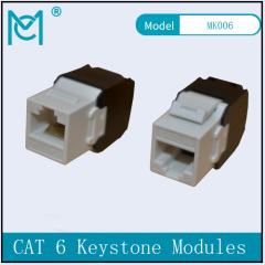 CAT 6A Keystone Jack Unshielded 500 MHz with
