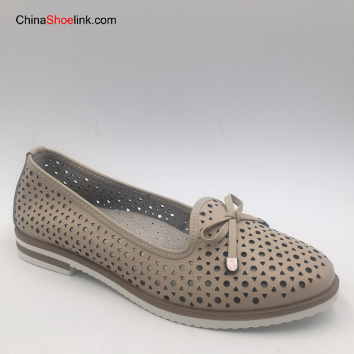 Woman Comfort Shoe Casual Shoe Flat Shoes Popular Leather Shoes