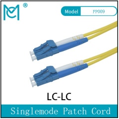 Fiber Optic Single Mode Patch Cord Duplex LC/LC