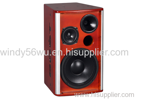 10 inch high quality professional KARAOKE 3 way loudspeaker