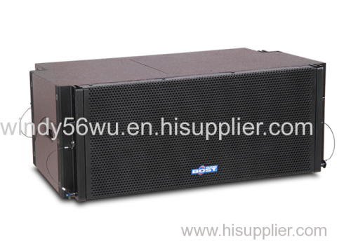 10 inch professional 2 way line array speaker system