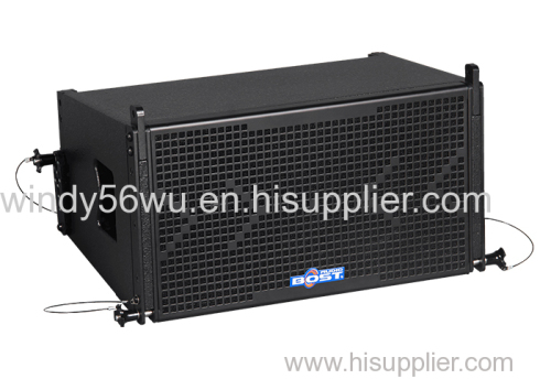 10 inch professional line array 2 way pa loudspeaker system