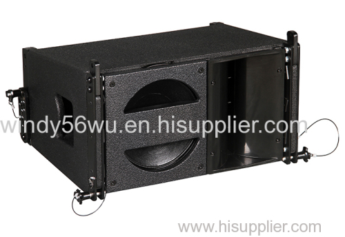 10 inch professional 2 way active line array speaker system