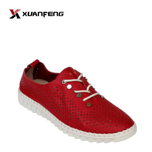 Fashion Handmade Women's Leather Comfort Casual Shoes