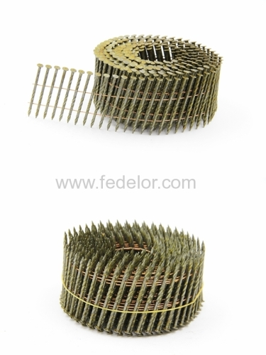 coil nails screw smooth ring