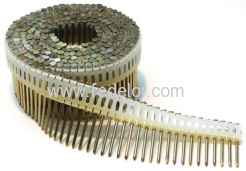 Plastic coil nail series