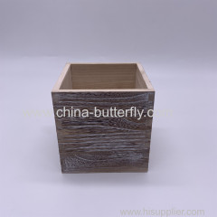 Wood Box Antique Finish