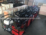 Hydraulic compressor with motorised hydraulic pump exported to east asia country