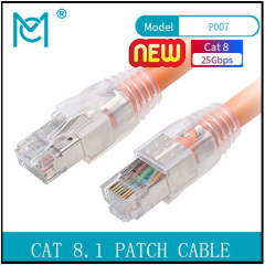 CAT 8.1 S-FTP Patch Cord Cu LSZH AWG 24/7 Length 1/2/3/5/10 m