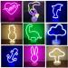 Led Neon Lightning Night Light Fevistal Holiday Decration Light