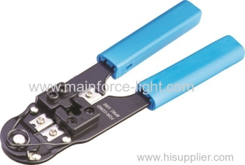 Stripping Cutting Crimping 3 in 1 Tool with Round Cable Stripper