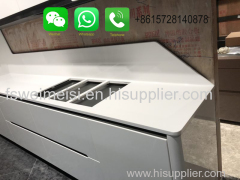 Foshan Weimeisi Decor White Marble Countertop for kitchen