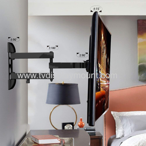 Metal Black 360 Swivel Full Motion TV Mounts