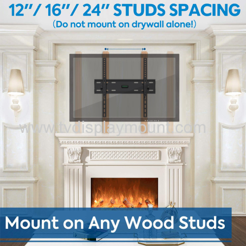 23 -56  Economy Tilting TV Flush Wall Mount