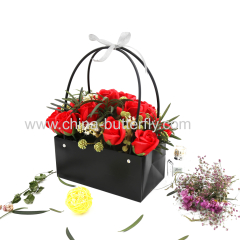 Dull Polish Platic Flower Bag