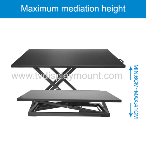Office Table Using Height Adjustable sit to stand desk desk sit-stand workstation