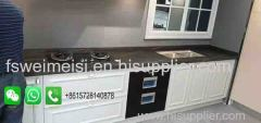 Foshan Weimeisi Factory Gate Prices Marble Looking Quartz Stone Kitchen Island tops