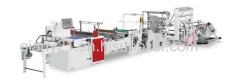 heat sealing hot cutting bag making machine