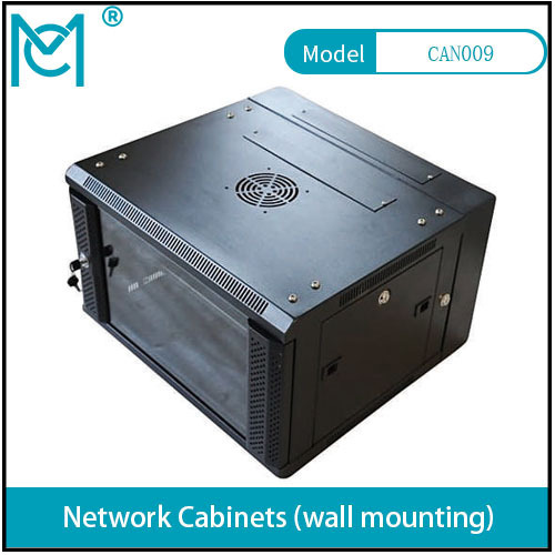 Professional Network Cabinet With permanent Black Static loading 60KG