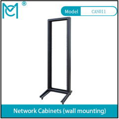 Professional Network Cabinet Black Static loading 120KG