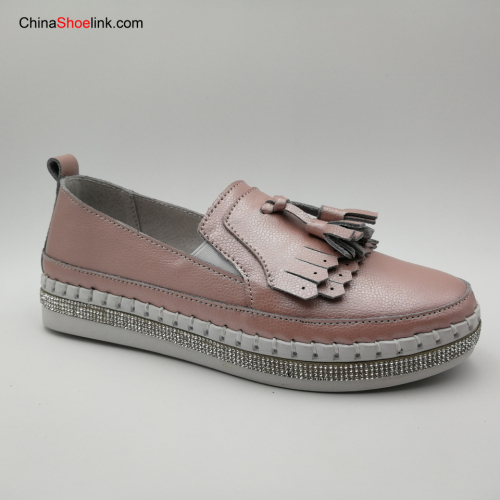 Fashion Women's Comfatable Shoes Female Flats Leather Shoe