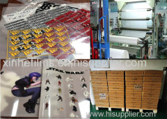 Customized 19X25inch 75micron/100micron Cold/Glossy Peel Matte/Glossy Heat Transfer Film