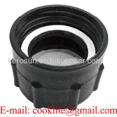 """PP IBC Tote Tank Adapter/Fitting 59mm Female to 2"""" BSP Female Drum Coupling"""