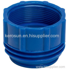 """PP IBC Tote Tank Adapter/Coupling DIN 71 Male to 2"""" BSP Female Drum Coupling"""