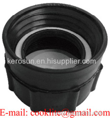 """PP IBC Tote Tank Adapter/Fitting DIN 61 Female to 2"""" BSP Female Drum Coupling"""