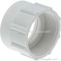 """PP IBC Tote Tank Adapter/Fitting 63mm Female to 2"""" BSP Female Plastic Drum Coupling"""