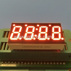 red display;clock display;temperature indicator;cooling display;heating display