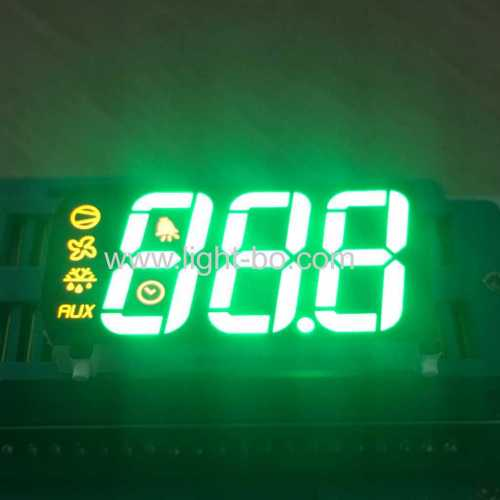 Multicolour common anode Three Digits 7 Segment LED Display for Refrigerator temperature controller
