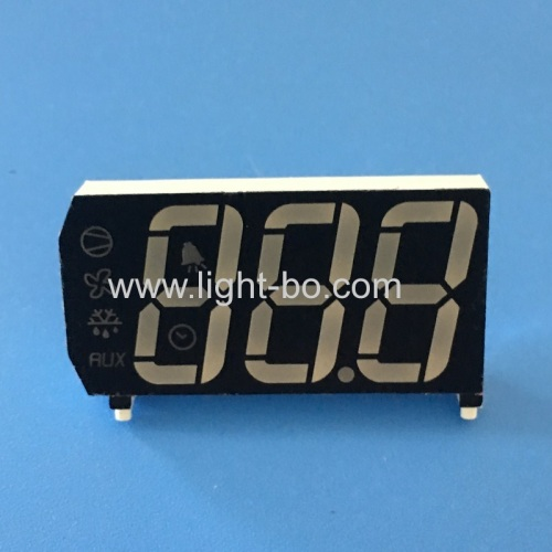 Multicolour Customized Triple Digit 7 Segment LED Display common anode for Refrigerator Controller