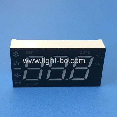 Customized multicolour 3 Digit 7 Segment LED Display common anode for refrigerator control panel