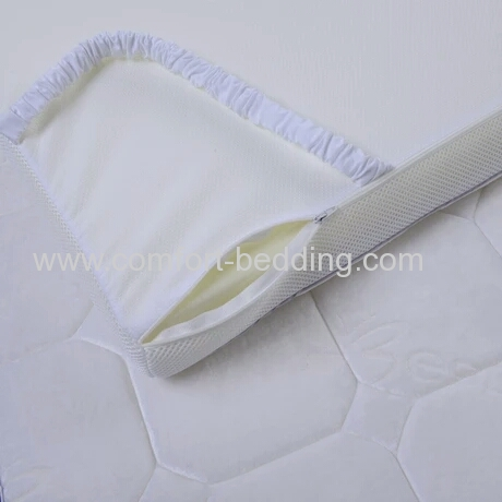2 inch3 inch thickness queen single size gel infused memory foam topper