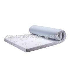 Home bedroom furniture memory foam infused gel topper