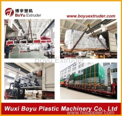 Spc Resilient Flooring Extruding/Extruder Production Machine Line