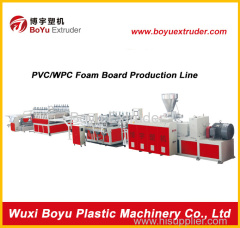 PVC foam board extrusion line project PVC WPC foam sheet production line