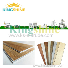 PVC SPC Floor Production Line And Technology Supply