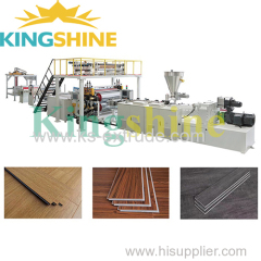 SPC Stone Plastic Floor Extrusion Line Supplier
