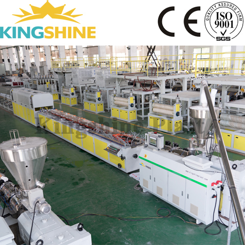 PVC WPC Rigid Door Frame Production Line