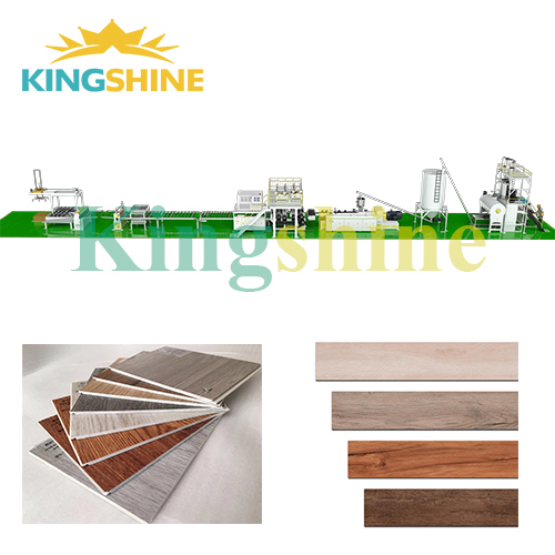 Plastic Wood Floor Tile Making Machine