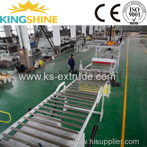 High Capacity PVC Laminating/Marble Making Machine Extrusion Line