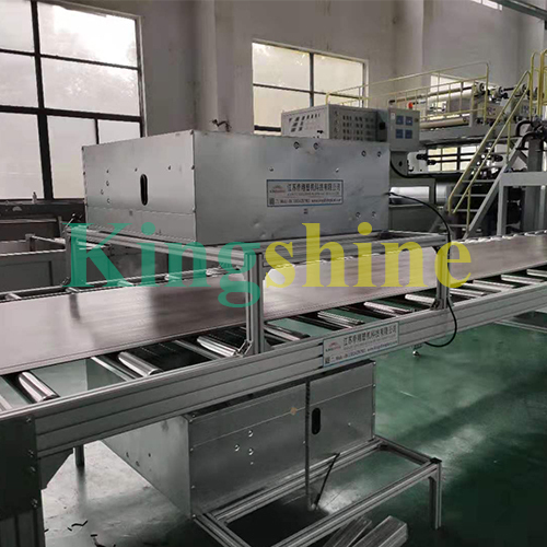 High Capacity 40ton Per Day SPC Flooring Production Line