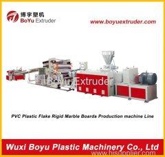 PVC floor extrusion line