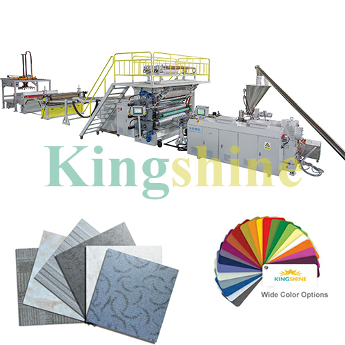 Three Roller Calender PVC Laminate Decoration Sheet Making Machine