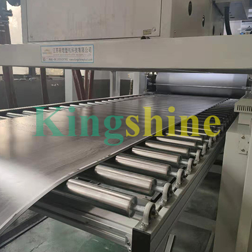 High Capacity LVT Flooring Extrusion Line Making Machine