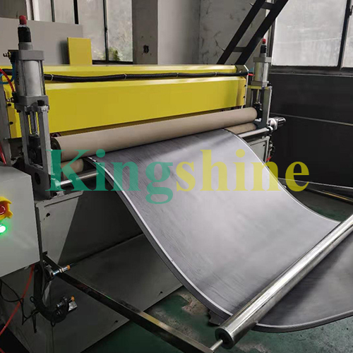 High Capacitty LVT vinyl flooring plank production line