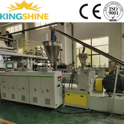 Rigid core floor Rigid LVT SPC floor Production Line