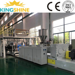SPC vinyl flooring tile/plank extrusion machine
